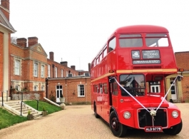 Routemaster bus for weddings in Basingstoke